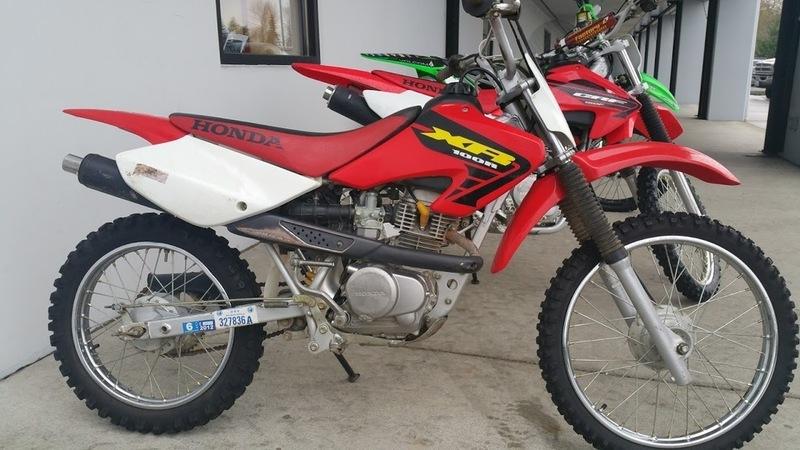 Honda Xr80r Xr100r 1998
